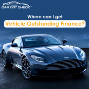Vehicle Outstanding Finance Check