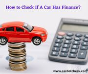 How To Check If A Car Is On Finance For Free